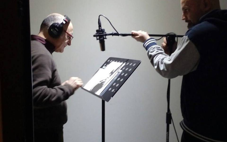 Scatti per audiolibri