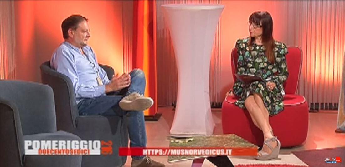 Intervista a Carlo Tosetti su Seilatv