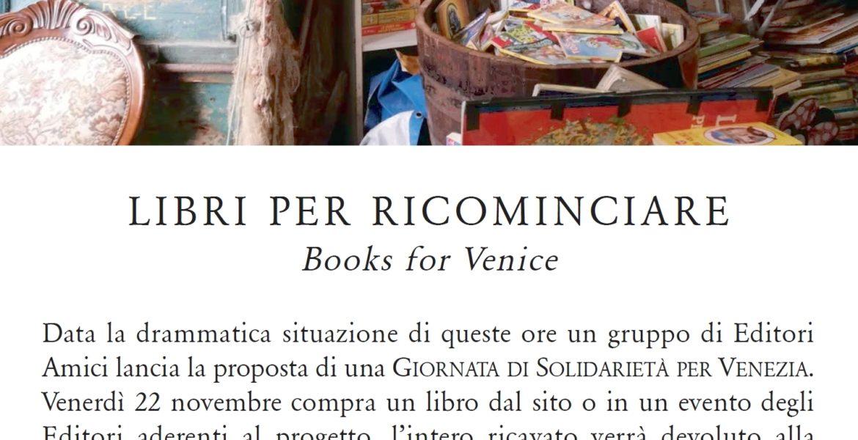 #BooksForVenice